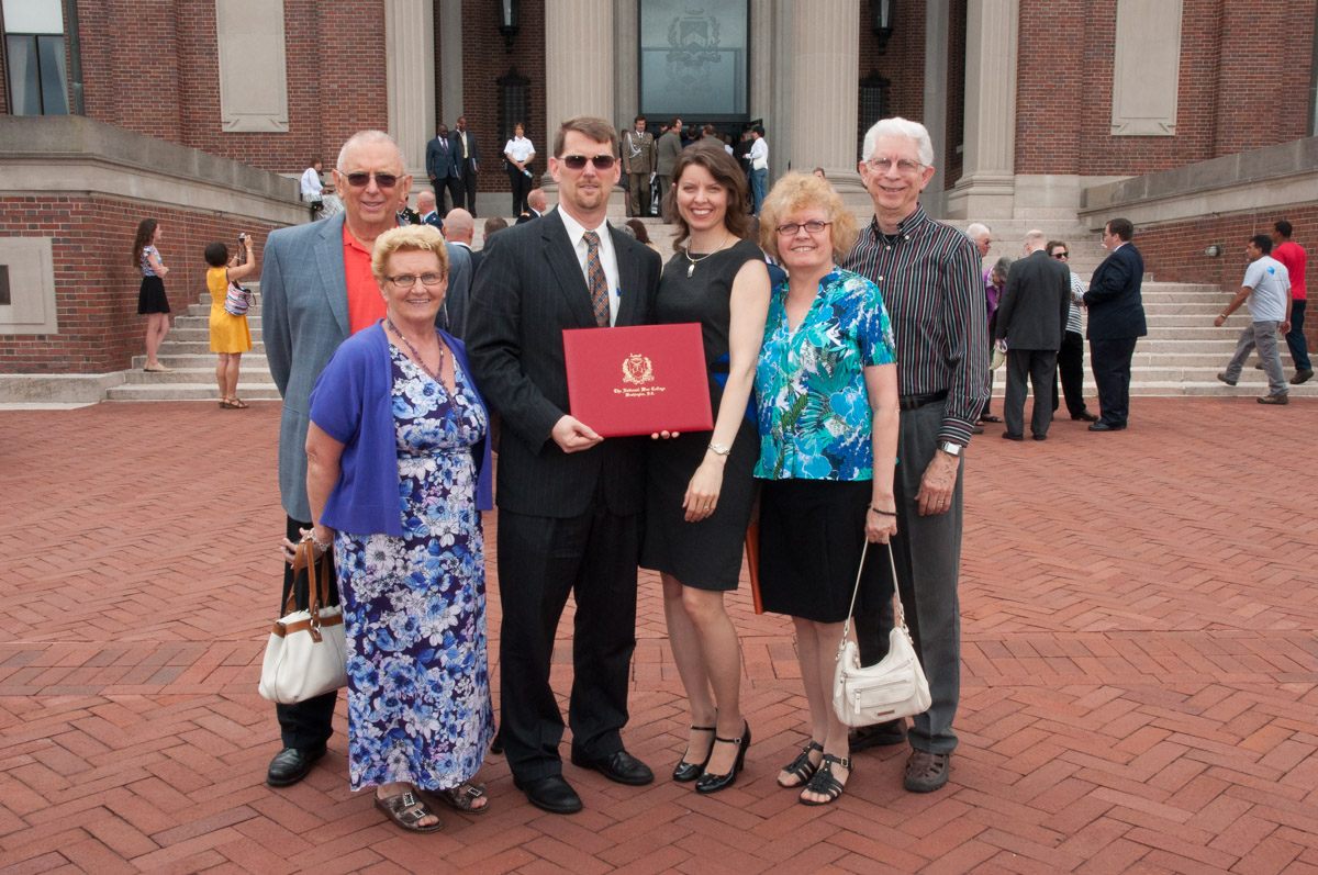 Family and friends of NDU graduates.