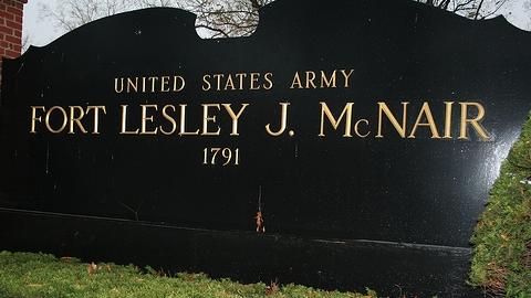 Fort McNair Ceremonial Gate Sign